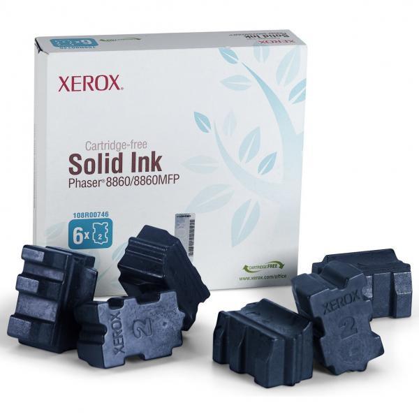 Xerox originální toner 108R00817, cyan, 14000str., Xerox Phaser 8860