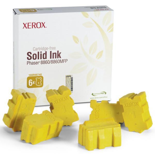 Xerox originální toner 108R00819, yellow, 14000str., Xerox Phaser 8860