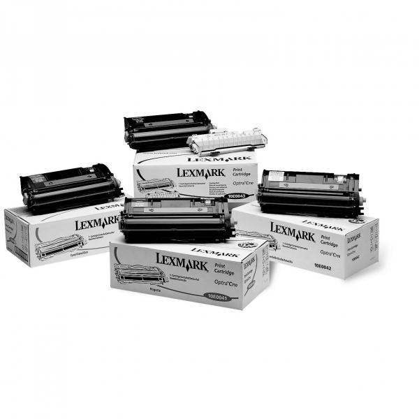 Lexmark originální toner 10E0040, cyan, 10000str., Lexmark Optra C710