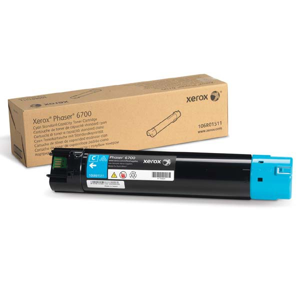 Xerox originální toner 106R01511, cyan, 5000str., Xerox Phaser 6700