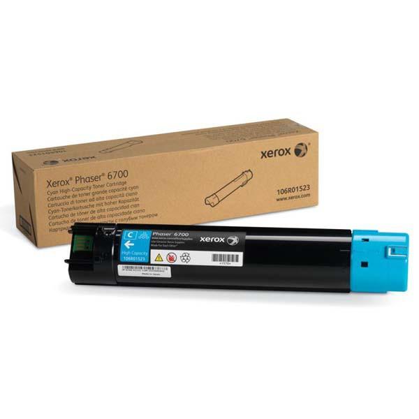 Xerox originální toner 106R01523, cyan, 12000str., Xerox Phaser 6700