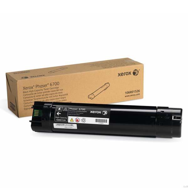 Xerox originální toner 106R01526, black, 18000str., Xerox Phaser 6700