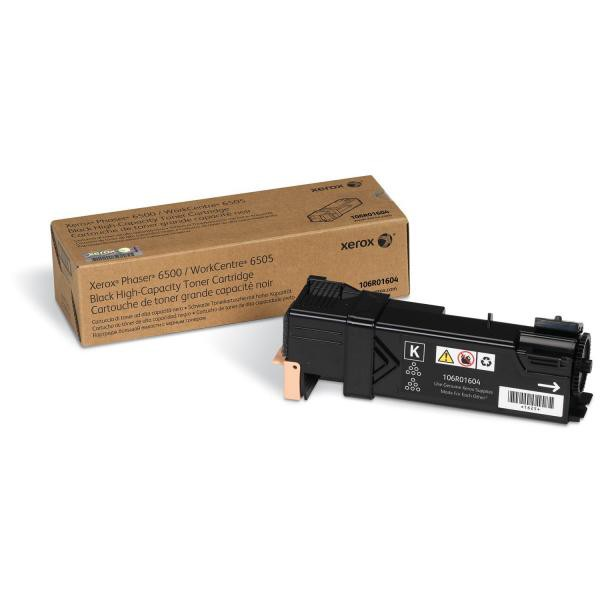 Xerox originální toner 106R01604, black, 3000str., Xerox Phaser 6500, 6505