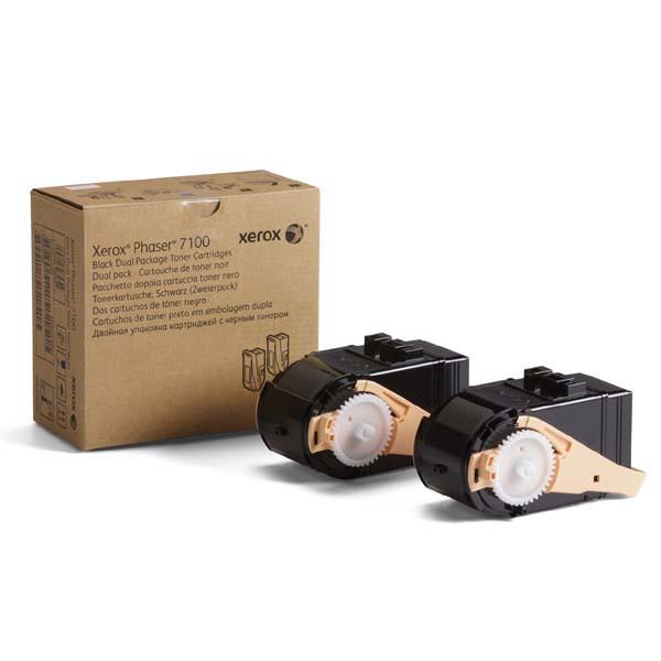 Xerox originální toner 106R02612, black, 2x5000str., Xerox Phaser 7100, 2ks