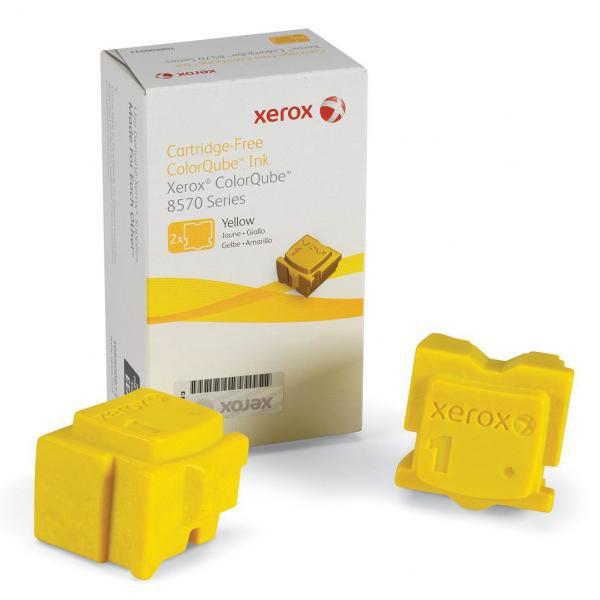 Xerox originální ink 108R00938, yellow, 4400str., Xerox ColorQube 8570, 2ks