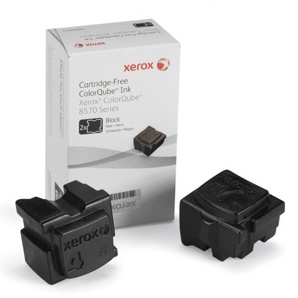Xerox originální ink 108R00939, black, 4300str., Xerox ColorQube 8570, 2ks