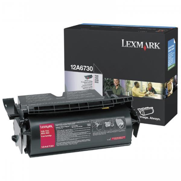 Lexmark originální toner 12A6730, black, 7500str., Lexmark T520, T522, X520, X522s