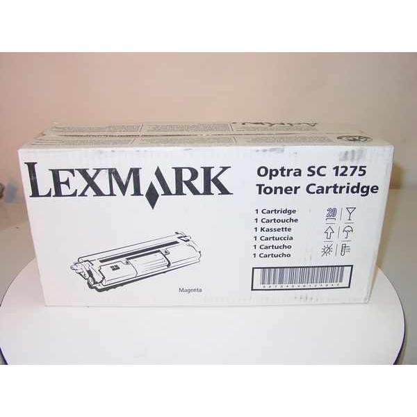 Lexmark originální toner 1361753, magenta, 3500str., Lexmark Optra SC-1275