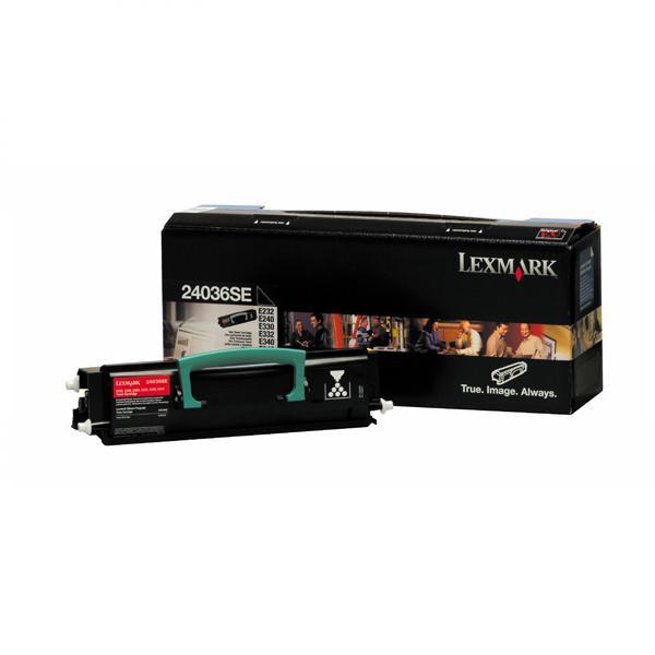 Lexmark originální toner 24036SE, black, 2500str., Lexmark E232, E330, E332n, E230, E340, E342n