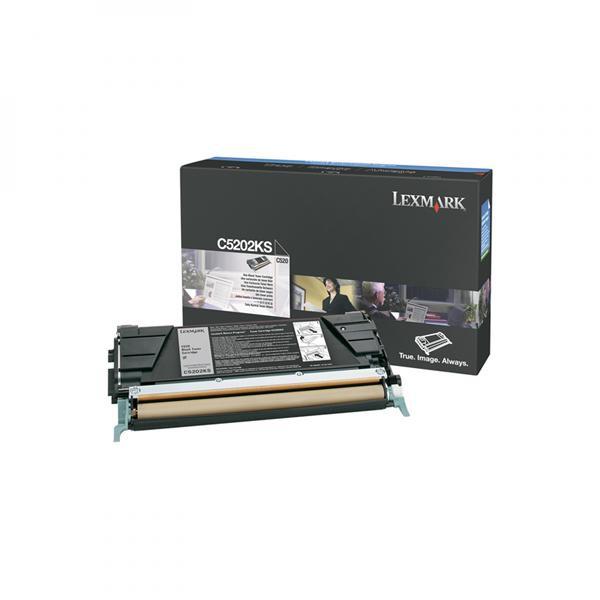 Lexmark originální toner C5202KS, black, 1500str., Lexmark C530