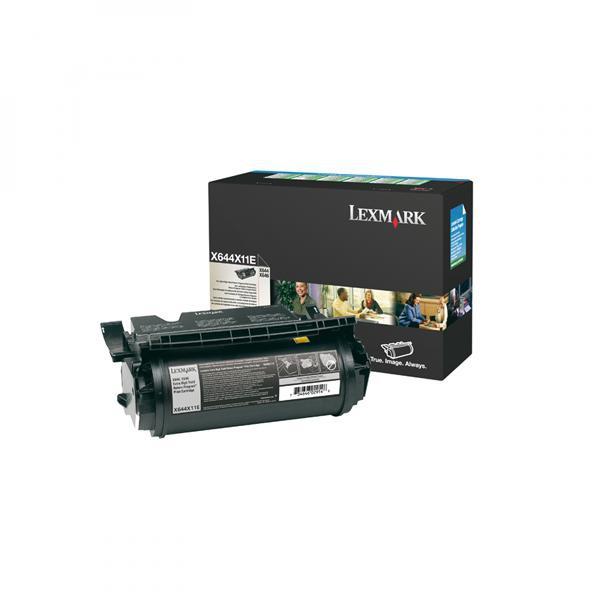 Lexmark originální toner X644X11E, black, 32000str., return, Lexmark X830, X832e, F