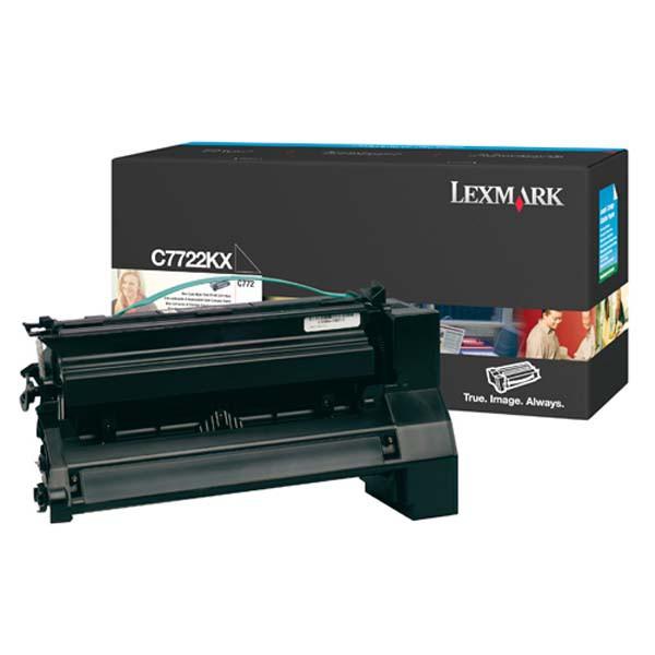 Lexmark originální toner C7722KX, black, 15000str., Lexmark C772