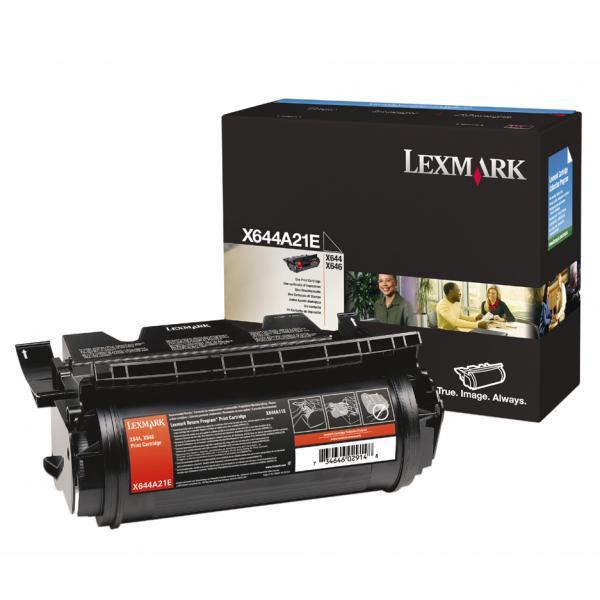 Lexmark originální toner X644A21E, black, 10000str., Lexmark X642e,X644e,X646e
