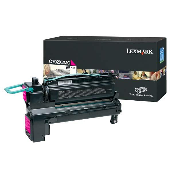 Lexmark originální toner C792X2MG, magenta, 20000str., extra high capacity, Lexmark C792de, C792e, C792dhe, C792dte