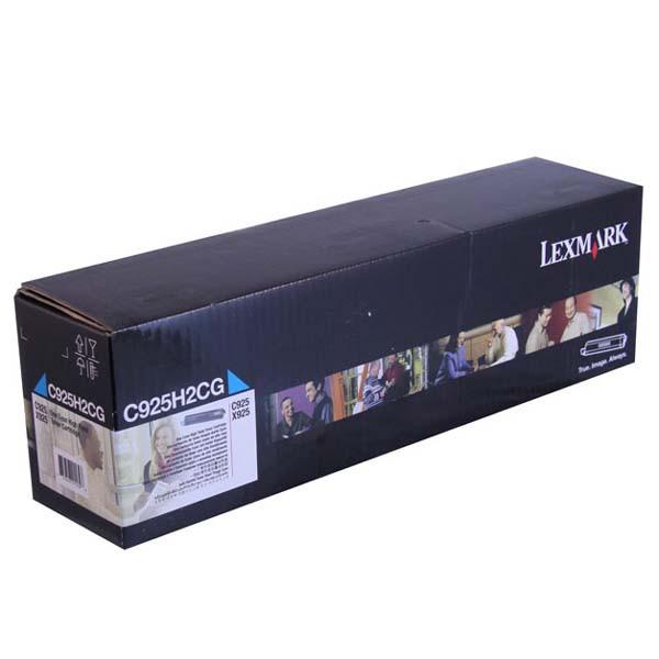 Lexmark originální toner C925H2CG, cyan, 7500str., high capacity, Lexmark C925de