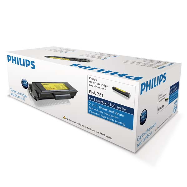 Philips originální toner PFA751, black, 2000str., Philips LPF 5120, 5125, 5135