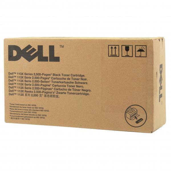 Dell originální toner 593-10961, black, 2500str., 2MMJP, Dell 1130