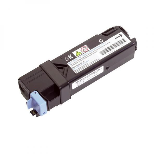 Dell originální toner 593-10312, black, 2500str., FM064, high capacity, Dell 2130CN, 2135CN