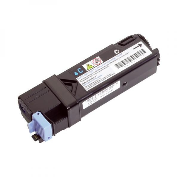 Dell originální toner 593-10321, 593-10313, cyan, 2500str., FM065, high capacity, Dell 2130CN