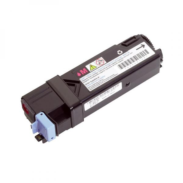 Dell originální toner 593-10323, 593-10315, magenta, 2500str., FM067, high capacity, Dell 2130CN