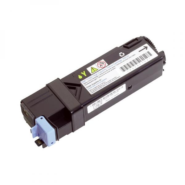 Dell originální toner 593-10322, 593-10314, yellow, 2500str., FM066, high capacity, Dell 2130CN