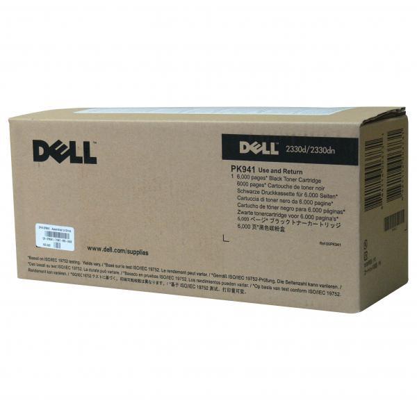 Dell originální toner 593-10335, black, 6000str., PK941, return, Dell 2330d, 2330dn, 2350, 2350dn