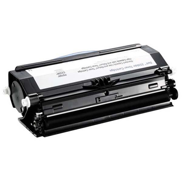 Dell originální toner 593-10839, black, 14000str., C233R, return, high capacity, Dell 3330dn