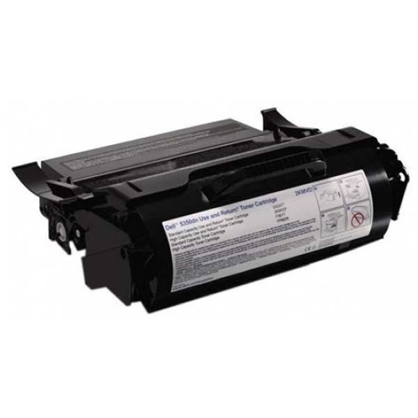 Dell originální toner 593-11052, black, 30000str., 2KMVD, return, high capacity, Dell 5350DN