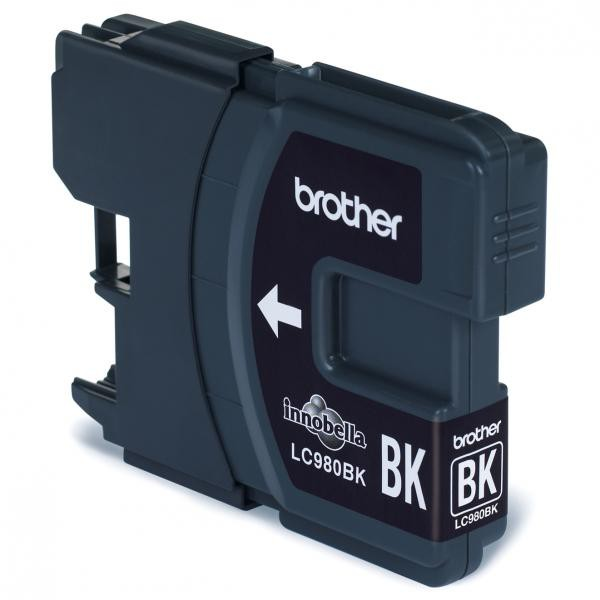 Brother originální ink LC-980BK, black, 300str., Brother DCP-145C, 165C