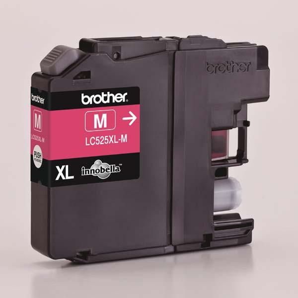 Brother originální ink LC-525XLM, magenta, 1300str., Brother DCP J100, DCP J105, MFCJ200