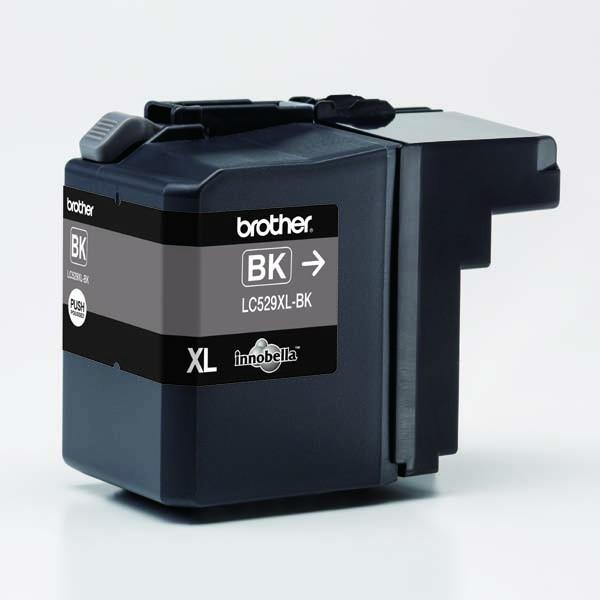 Brother originální ink LC-529XLBK, black, 2400str., Brother DCP J100, DCP J105, MFCJ200