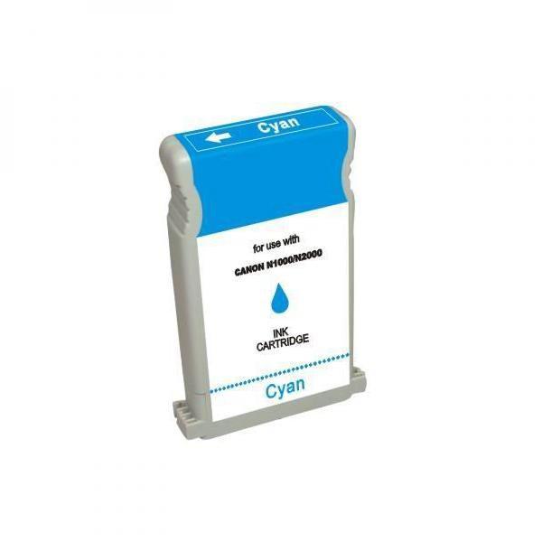 Canon originální ink BCI1201, cyan, 3470str., 6926A001, 7338A001, Canon N1000, 2000, BIJ 1300, 1350, 2300, 2350