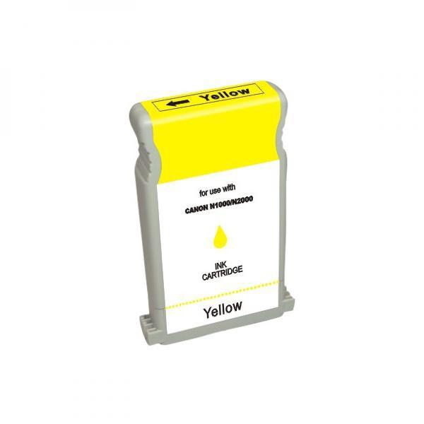 Canon originální ink BCI1201, 7340A001, yellow, 3470str., 6928A001, Canon N1000, 2000, BIJ 1300, 1350, 2300, 2350