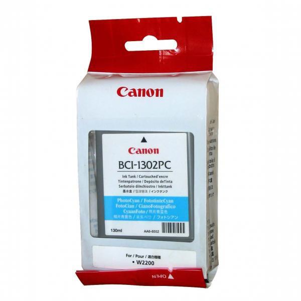 Canon originální ink BCI1302C, cyan, 7718A001, Canon BJ-W2200