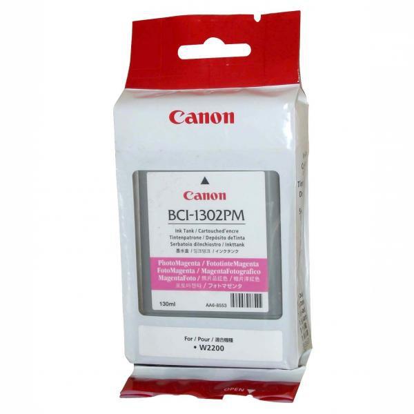 Canon originální ink BCI1302M, magenta, 7719A001, Canon BJ-W2200