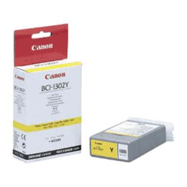 Canon originální ink BCI1302Y, yellow, 7720A001, Canon BJ-W2200