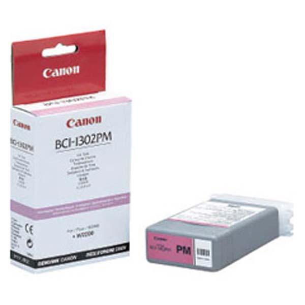 Canon originální ink BCI1302PM, photo magenta, 7722A001, Canon BJ-W2200