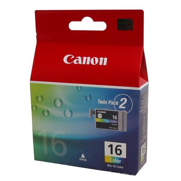 Canon originální ink BCI16C, color, 9818A020, 9818A002, Canon Pixma i90, Selphy D8706