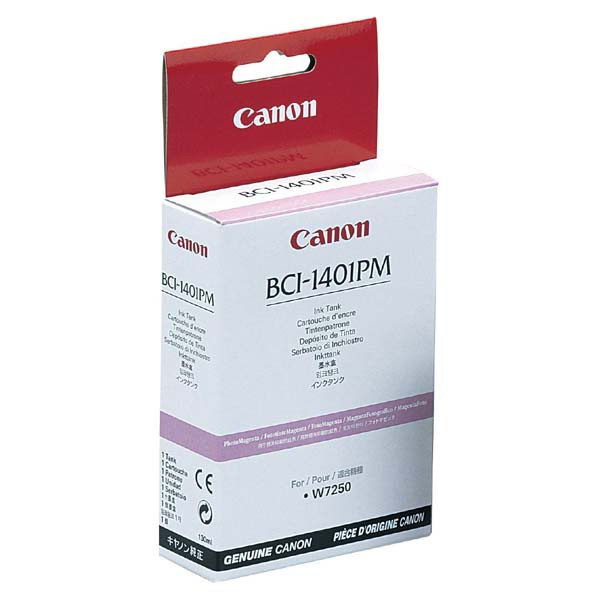 Canon originální ink BCI1401PM, photo magenta, 7573A001, Canon W6400D, 7250