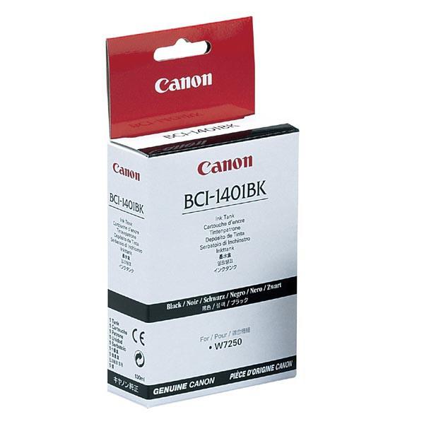 Canon originální ink BCI1401B, black, 7568A001, Canon W6400D, 7250