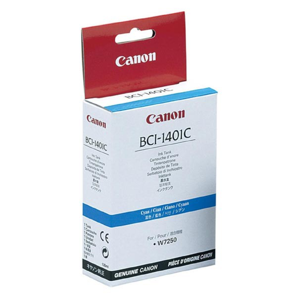 Canon originální ink BCI1401C, cyan, 7569A001, Canon W6400D, 7250