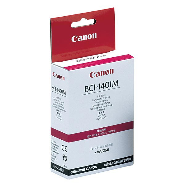 Canon originální ink BCI1401M, magenta, 7570A001, Canon W6400D, 7250