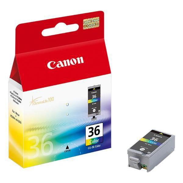 Canon originální ink CLI36, color, 1511B001, Canon Pixma Mini 260