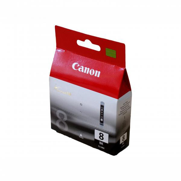 Canon originální ink CLI8BK, black, 490str., 13ml, 0620B001, Canon iP4200, iP5200, iP5200R, MP500, MP800