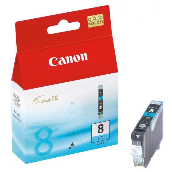 Canon originální ink CLI8PC, photo cyan, 450str., 13ml, 0624B001, Canon iP6600, iP6700