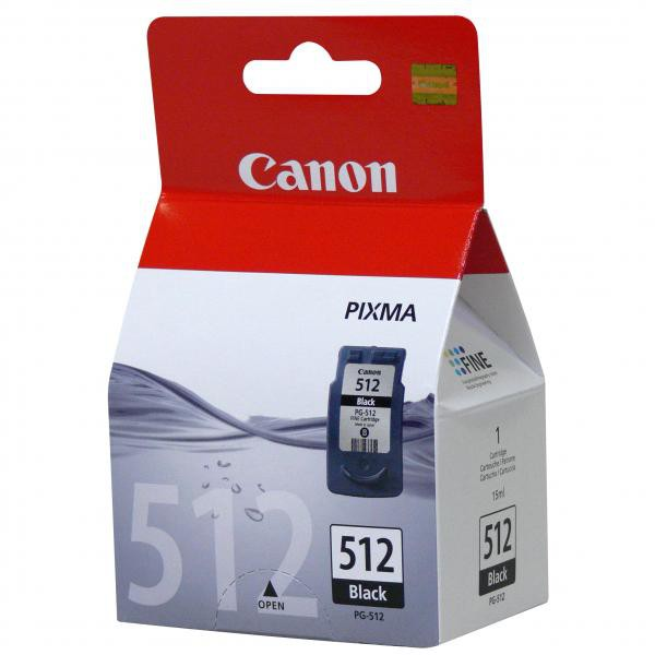 Canon originální ink PG512BK, black, 400str., 15ml, 2969B001, Canon MP240, 260, 480