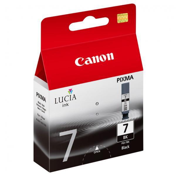 Canon originální ink PGI7BK, black, 570str., 2444B001, Canon Pixma MX7600