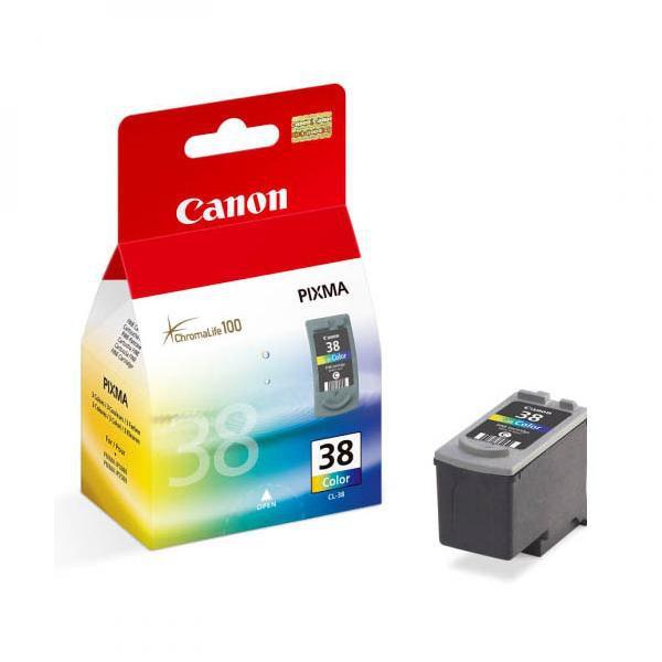 Canon originální ink blistr s ochranou, CL38, color, 207str., 9ml, 2146B008, 2146B003, Canon iP1800