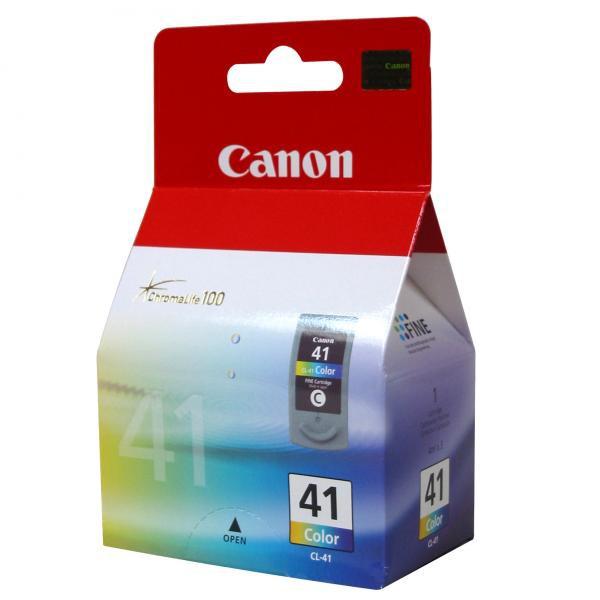 Canon originální ink blistr s ochranou, CL41, color, 303str., 3x4ml, 0617B032, 0617B006, Canon iP1600, iP2200, iP6210D, MP150, MP1