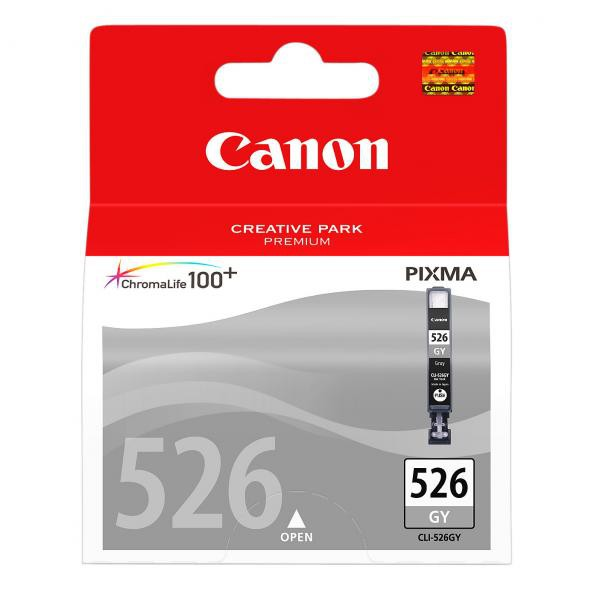 Canon originální ink blistr s ochranou, CLI526GY, grey, 9ml, 4544B006, 4544B004, Canon Pixma MG6150, MG8150